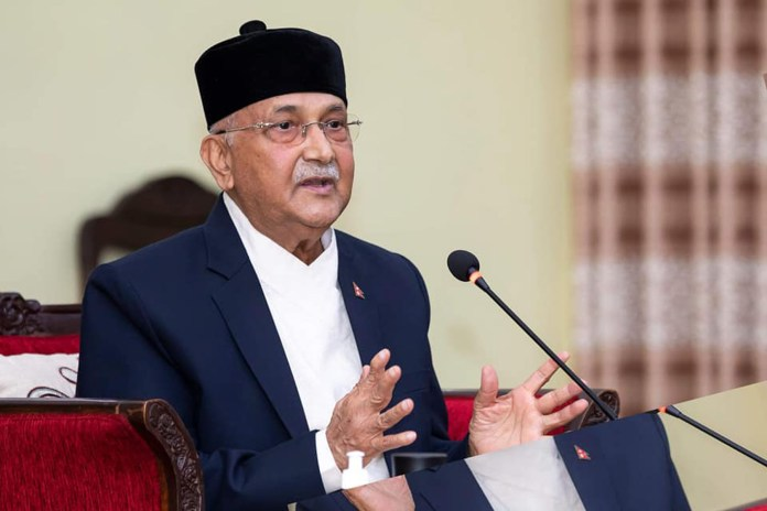 KP Sharma Oli claims Shri Ram was Nepali