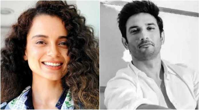 Kangana has hinted at possible political connection behind cover up in Sushant Singh Rajput's death case