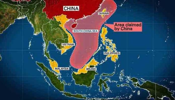 USA rejects China's claims over South China Sea