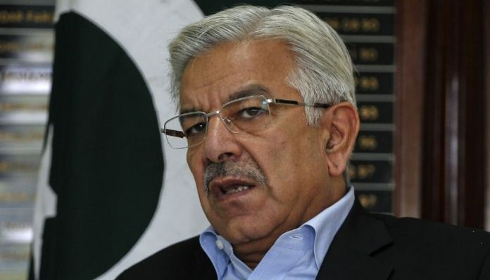 Khawaja Asif accused of 'blasphemy' for demanding protection of minorities
