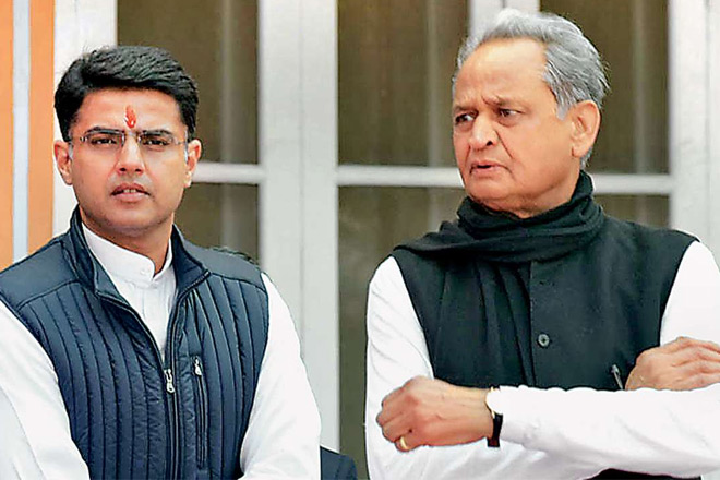Congress keeps the doors of the party open for Sachin Pilot even as his posters are removed from the party office in Jaipur