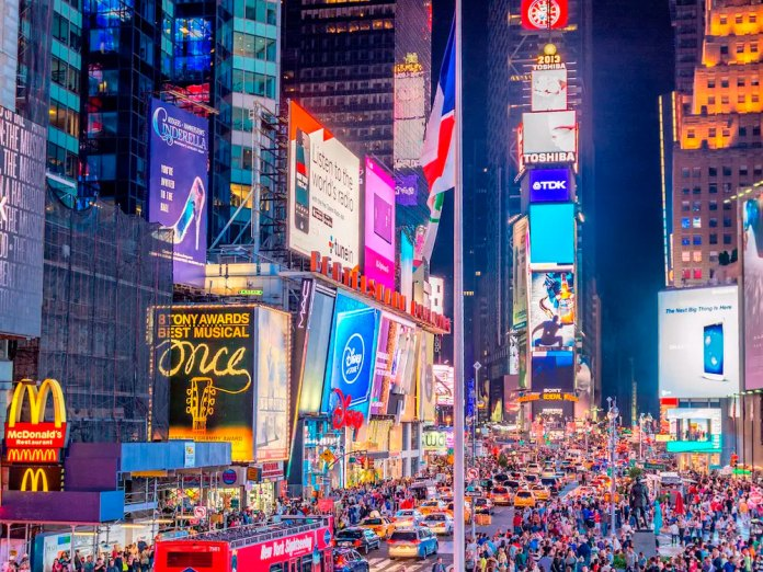 Times Square LED billboards to display Lord ram, Ayodhya images on Bhoomi Pujan day