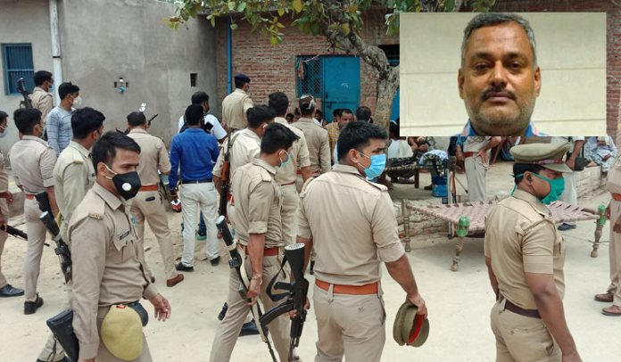 The Police had been warned about a possible attack by Vikas Dubey in March