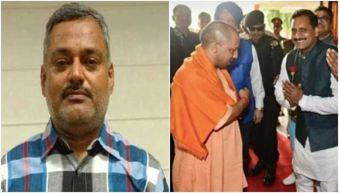No, gangster Vikas Dubey is not the same person as BJP leader Vikas Dubey