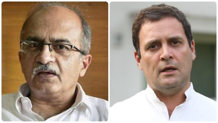 Pakistani news daily bats for Prashant Bhushan leading the Congress party
