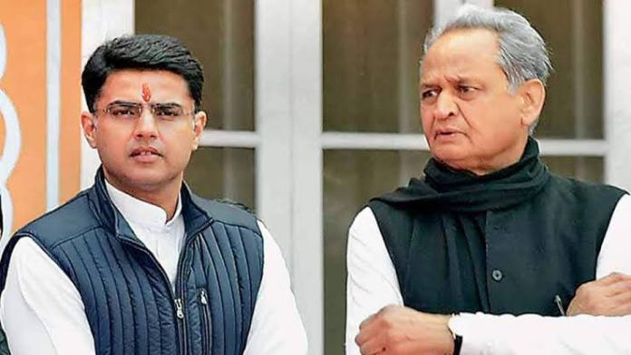 Ashok Gehlot reportedly offers to resign from the post of Rajasthan CM after Sachin Pilot's return