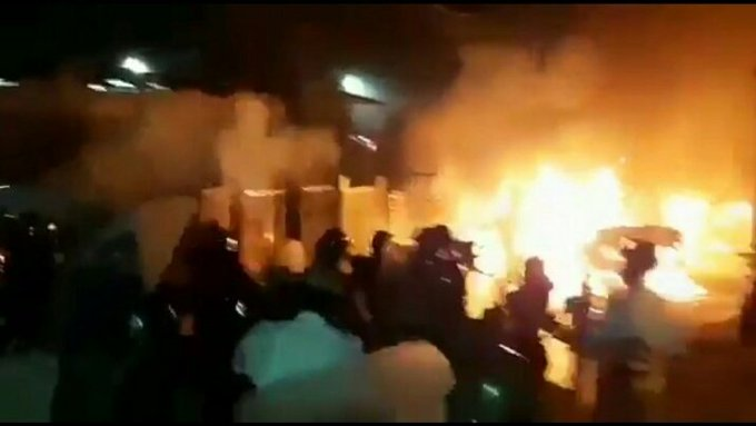 KG Halli, and DJ Halli police stations were attacked by the rioters