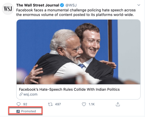 WSJ promotes article against BJP