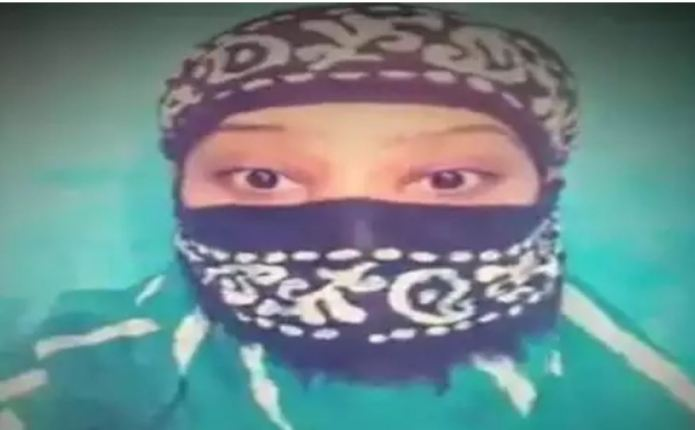 Heer Khan has been arrested by Prayagraj Police