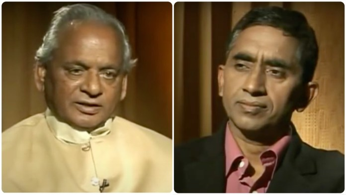 NDTV anchor suggests Kalyan Singh should have ordered massacre of Hindus in Ayodhya on December 6, 1992 so as to protect the secular fabric of the nation
