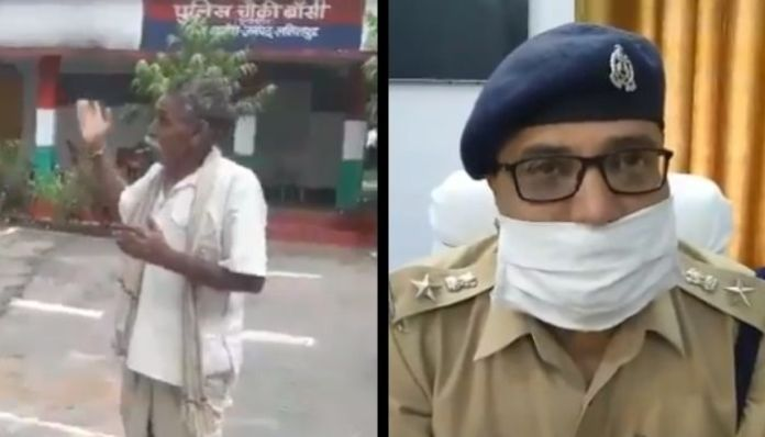 UP Police suspends cop for allegedly thrashing a farmer
