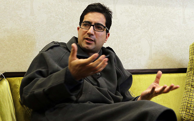 Shah faesal has stepped down as president of Jammu and Kashmir Peoples Movement