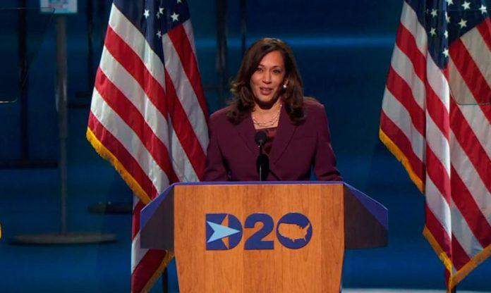 Kamala Harris at Democratic National Convention 2020