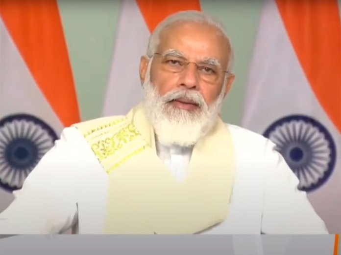 PM Modi inaugurates submarine OFC network in Andamans