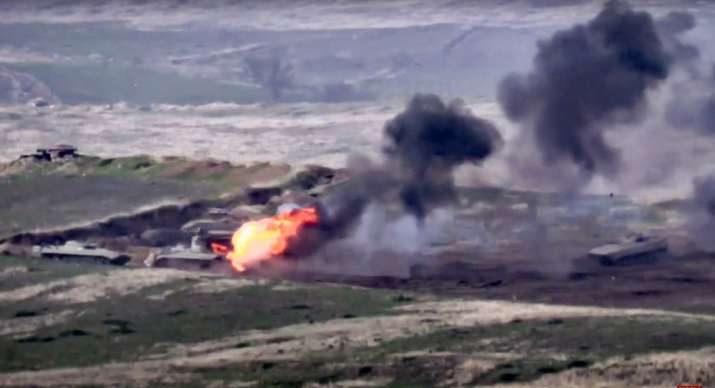 Clashes erupt between Azerbaijan and Armenia over breakaway region Nagorno-Karabakh, world leaders concerned