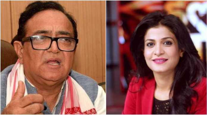 Ajay Singh Yadav responds to parody account, hurls insults at Anjana Om Kashyap