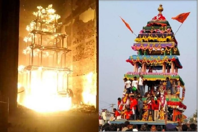 Outrage swells as opposition slams Andhra Pradesh government for the spate of attacks against Hindu temples
