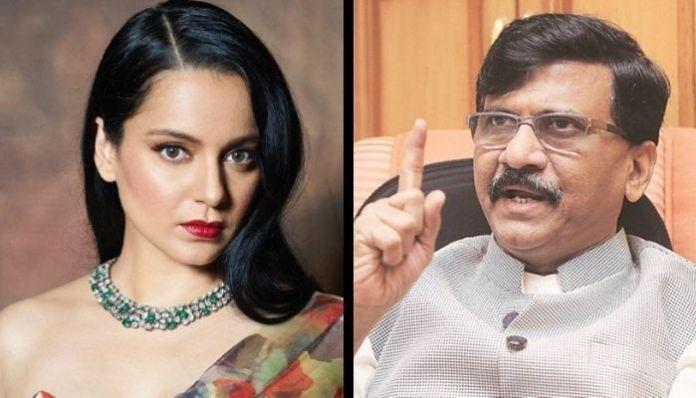 Sanajy Raut abuses actress Kangana Ranaut, calls her 'haramzadi'