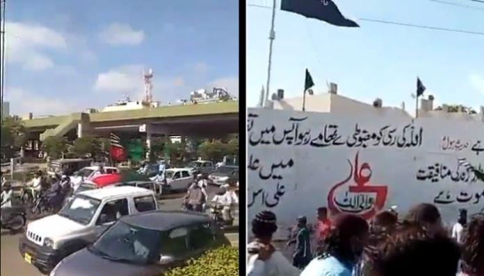 Pakistan: Sunni extremists lead Anti-Shia protests in Karachi, label them as 'Kaffirs'