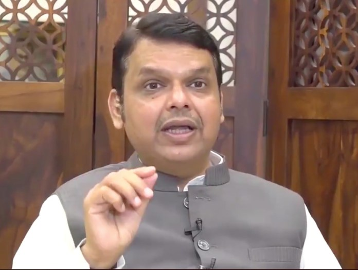Devendra Fadnavis shared his personal recording of his interview with ABP Majha to allege the channel abruptly stopped his interview