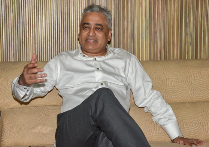 Rajdeep Sardesai gets a lesson in journalism from Sambit Patra