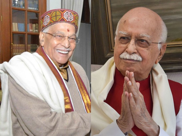 Murli Manohar Joshi and Lal Krishna Advani