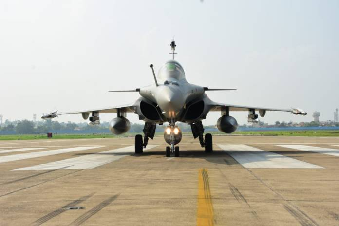 Rafale Jets inducted into IAF's Golden Arrows squadron