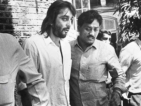 Sanjay Dutt was supported by myriad luminaries, who stood outside Thane Jail to support him