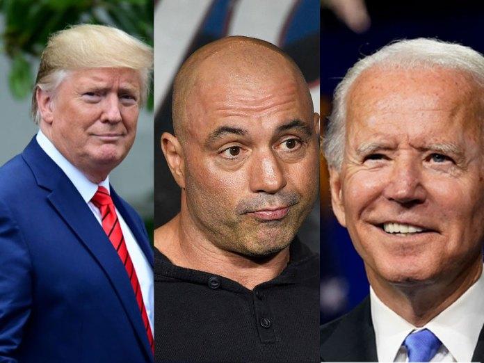 Trump Biden debate on Joe Rogan podcast?