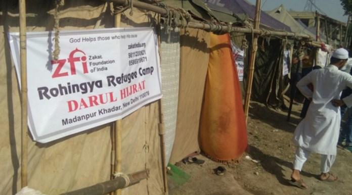 Zakat Foundation helps Rohingyas