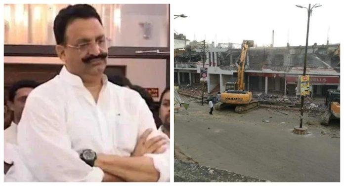 Mukhtar Ansari's hotel demolished