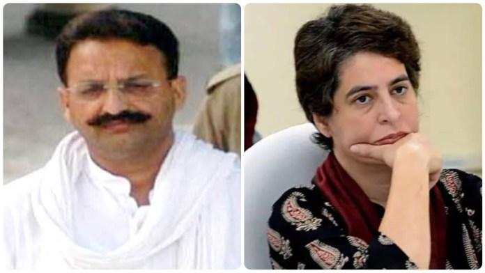 slain MLA Krishnanand Rai's wife ALka Rai writes a letter to Priyanka Gandhi, urging her to stop shielding BSP MLA Mukhtar Ansari