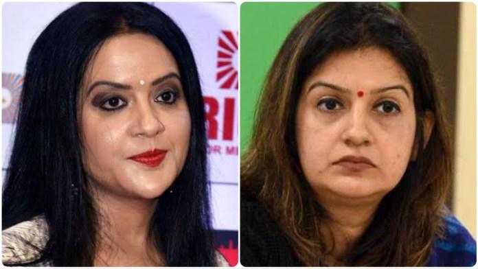 Devendra Fadnavis's wife called the Shiv Sena Rajya Sabha MP a