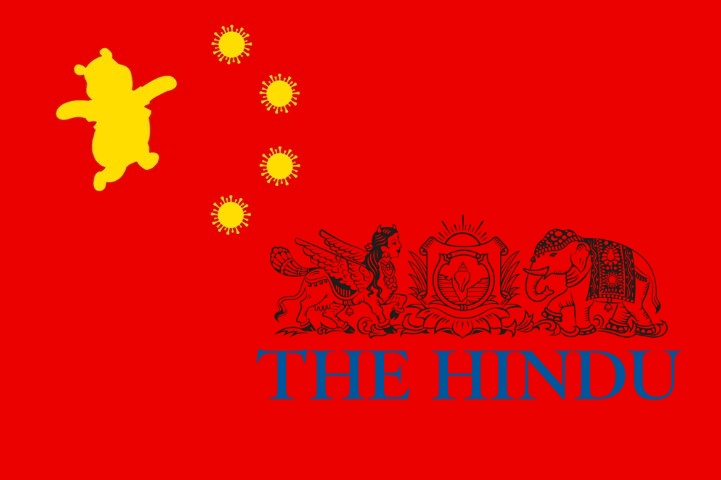 As The World Battles Chinese Virus And India Plants Its Feet Against Chinese Aggression The Hindu Makes Money By Printing Chinese Propaganda