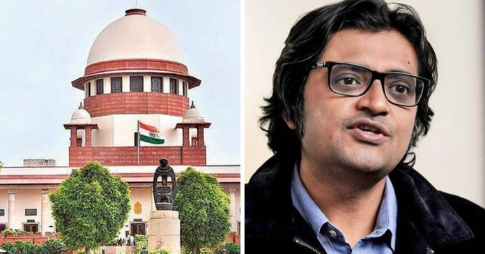 Cases against Arnab Goswami and Republic TV: SC asks Maha govt to file affidavit in 2 weeks