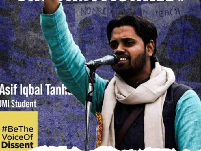 Delhi Court dismisses bail petition of riot accused Asif Iqbal Tanha yet again
