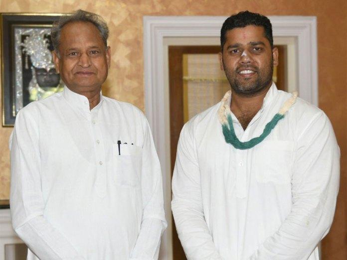 Ashok Gehlot and Ashok Chandana