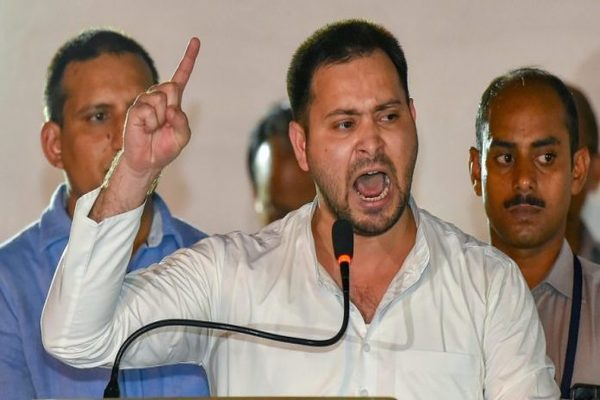 Tejashwi Yadav blame s EVM for defeat