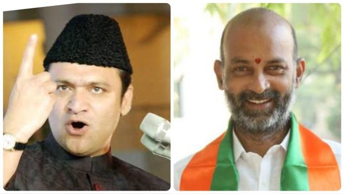 Police books Akbaruddin Owaisi and BJP Telangana President under Section 505