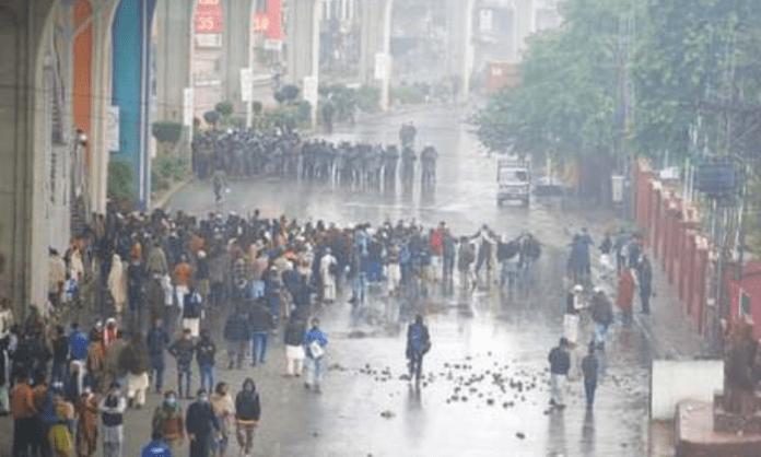 TLP islamists and police clash in Rawalpindi, Pakistan