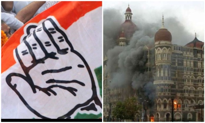 Social media users remind Congress of its double standards during 26/11 terror attacks
