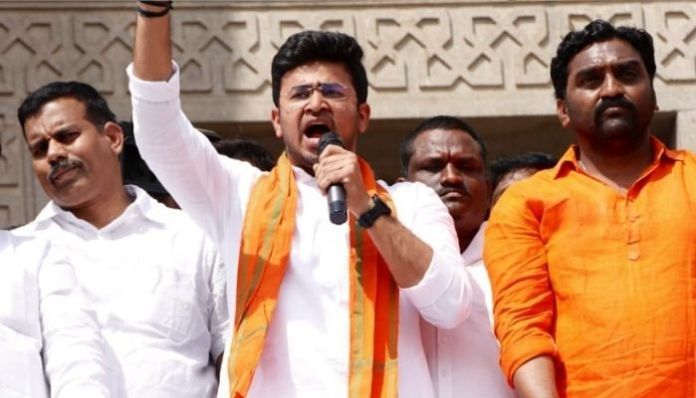 Tejasvi Surya pays tribute to Telengana movement martyrs, despite TRS opposition