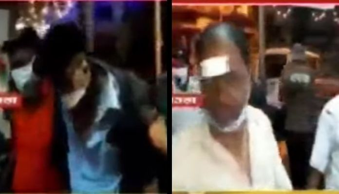 West Bengal: Scuffle breaks out between cops and locals over firecrackers