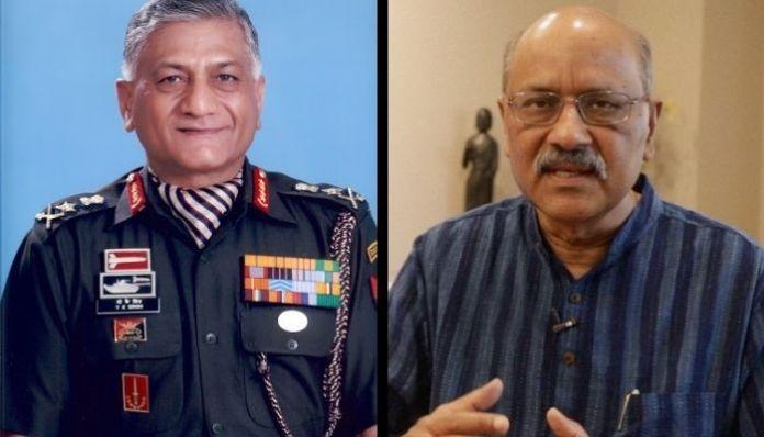 General VK Singh slams Shekhar Gupta for his fake 'coup' story, again