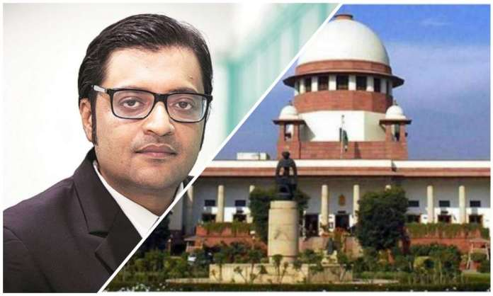 SC slams Maha govt's vendetta politics against Arnab Goswami