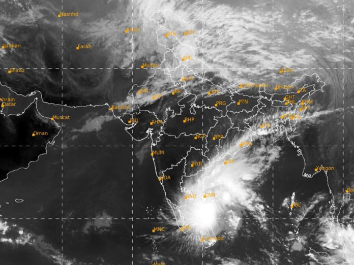 Cyclone Nivar is set to hit the coast of Southern India in a few hours