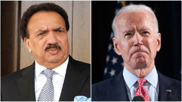 Pakistani politician confuses between Democrat Biden and Republican Bush
