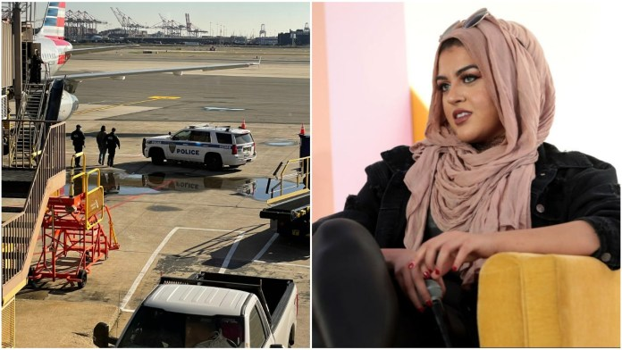 US Muslim woman harasses fellow passenger over petty issues, creates ruckus onboard aircraft