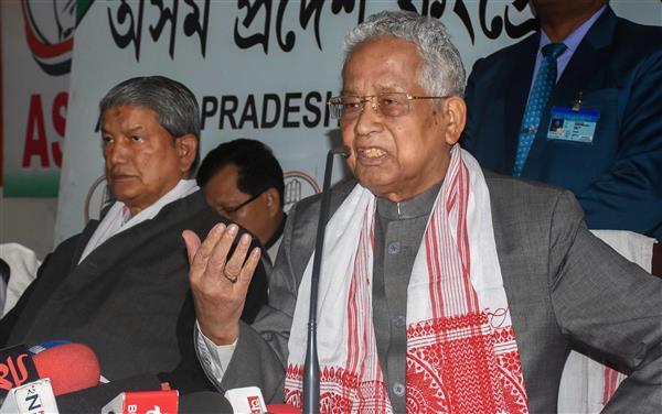 Tarun Gogoi, former Assam CM