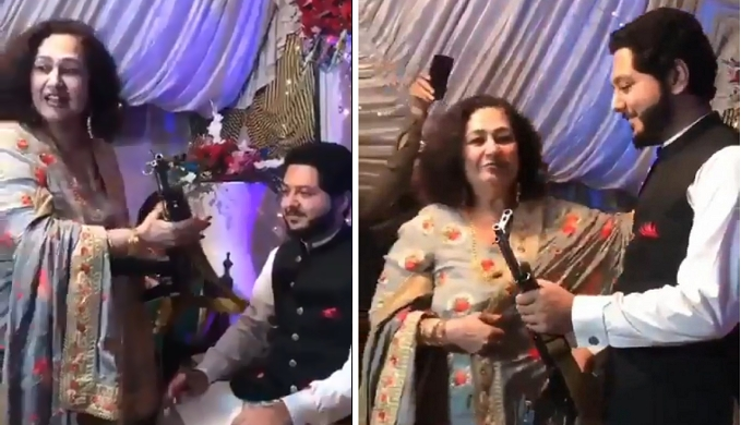 Pakistani Man Get Ak 47 Rifle As Wedding Gift From His Mother In Law
